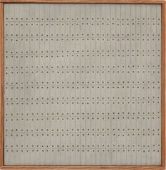 Agnes Martin, Untitled, 1962 #agnes #martin #art #paintings