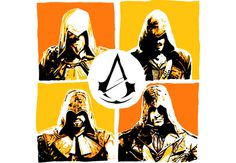 Assassins #acu #designbyhumans #design #assassins #art #creed