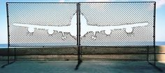 "this isn't happinessâ""¢ (Fly away), Peteski #fence #plane"