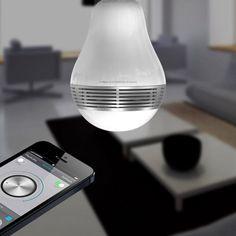 PlayBulb Smart LED Speaker Bulb #tech #flow #gadget #gift #ideas #cool