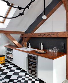 Loft Apartment in Poznan by Cuns Studio -#architecture, #home, #decor, #interior, #homedecor,