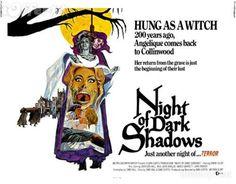 Night Of Dark Shadows (1971)Trailer #movie #retro #poster
