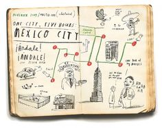 Oliver Jeffers - Illustration #map #illustration #lettering