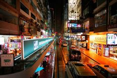 The Charm of Hong Kong in The Rainy Season: Magnificent Urban Photography by Ekaterina Busygina