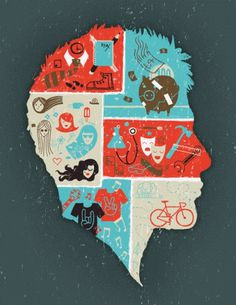 manu prado director de arte #illustration #head #poster