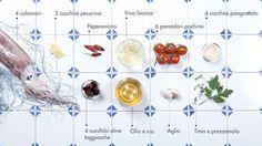 calamari_ingredienti #ingredients #italian #recipe #food