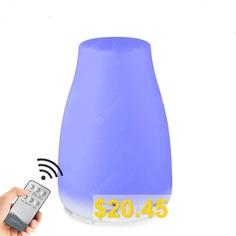 Remote #Control #Aroma #Diffuser #Oil #Diffuser #7 #LED #Cool #Mist #Humidifier 200ML #- #WHITE