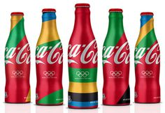 Coca Cola London Olympics 2012 #packaging #bottle