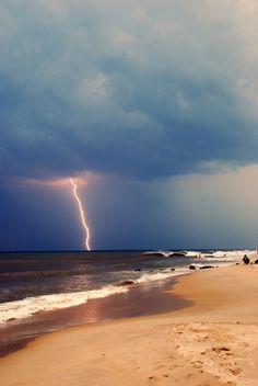 Sleepless Dreams #lightning #sand #photography #storm #beach #illumination #coast