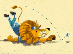 Lion, Paint