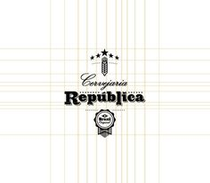 Cervejaria República on Behance #republica #badge #design #graphic #logo #layout