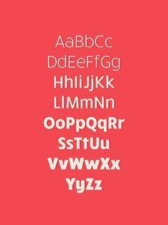 RuckSack #type #rucksack #font #typography