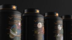 Tea packaging brand design
