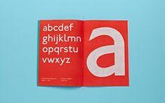 P22 Johnston Underground Type Specimen on the Behance Network #typography #book
