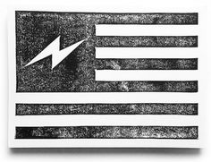 Linocuts | Neuarmy™ #flag #illustration