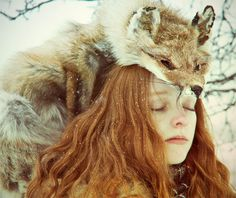 Photograph dream by Nika Toroptsova on 500px #lady #fox #foxy