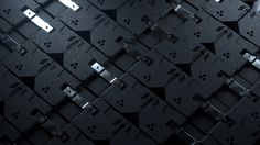 #tech #pattern #futuristic #black #armor
