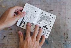 tad carpenter #illustration #character #doodle #sketchbook #tad carpenter