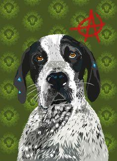 Emma #fellerer #together #illustration #forever #marge #friends #dog
