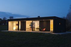A Retro Modern Prefab: Pavilion 65 by Pavilion Living Photo #65 #pavilion #sweden