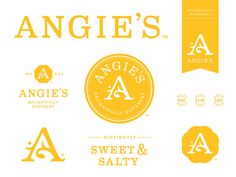 Angie\\\'s Kettle Corn   Brand Update on Packaging Design Served