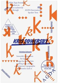 FFFFOUND! | 04.International-speaker-Kris-Sowersby.jpg (368×509) #speaker #sowersby #poster #kris #tour