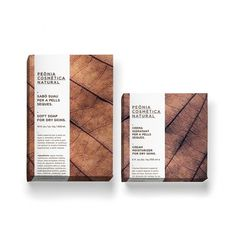 Peònia Cosmètica Natural on Branding Served #stationary