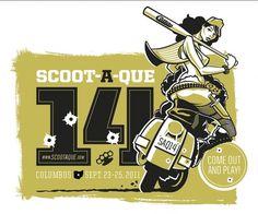 5642937363_c70a87dca8_b.jpg 928×774 pixels #illustration #scooter #girl #typography