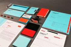 Ovaitt Health Media | STATIONERY OVERDOSE #branding #visual identity #graphic design #stationery