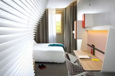 New OKKO Hotel by Patrick Norguet #hotel #design #room