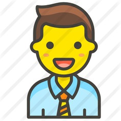 See more icon inspiration related to professions and jobs, boss, smileys, worker, businessman, manager, administrator, head, avatar, man and people on Flaticon.