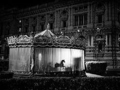 #carousel #horse #night #photo