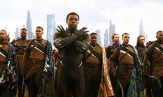 Chadwick Boseman Black Panther Avengers Infinity War Hd Wallpaper Background – WallpapersBae
