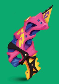 Joe-melhuish-int-6 #illustration #weapon #color #awesome