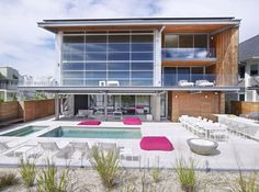 Sustainable and Playful Two-Storey Beach House Near the Atlantic #architecture