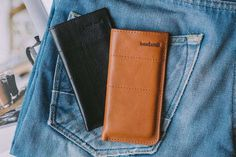 Leather iPhone Case by band&roll #tech #flow #gadget #gift #ideas #cool