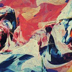 Eu sou a lasca. #fractal #digital #abstract #texture #colorful #xuxoe #thegraphicsproject #fubiz