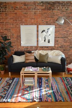 Brick Walls For Living Room