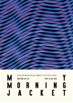 My Morning Jacket by James Kirkup  http://james-kirkup.com/