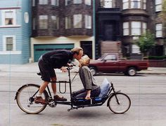Drop Anchors #couple #cargo #bike #love #kiss
