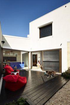 Hemp House is Built of Rammed Earth, Timber and Hempcrete Walls 1