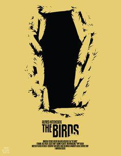 The Birds by =Mr Bluebird on deviantART #movie #horror #poster