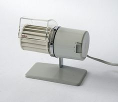 Braun Desk Fan model HL1 | Flickr - Photo Sharing! #design #product #1960s #braun #weiss #reinhold