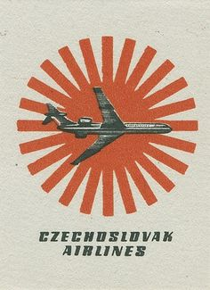 Czechoslovakian matchbox label | Flickr - Photo Sharing! #matchbox #czechosloviakian #vintage #label