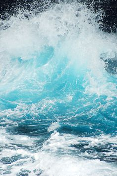 Waves #breaking #surf #nature #icy #blue #waves