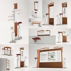 Wayfinding | Signage | Sign | Design | Scenic 木纹新中式风景名胜区户外标识牌