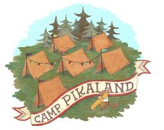 Camp Pikaland - Mary Kate McDevitt • Hand Lettering and Illustration #illustration #omg
