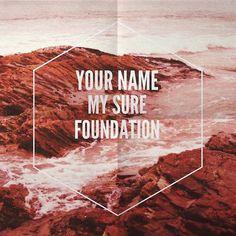 lonniewebbblog:nnMountain by Hillsong Unitedn #print #design #beautiful #jesus #poster #type #god #love