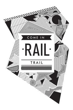 RAIL TRAIL on Behance #cubillo #design