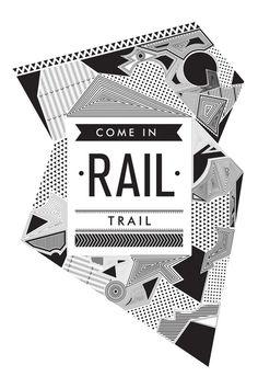 RAIL TRAIL on Behance #cubillo #design